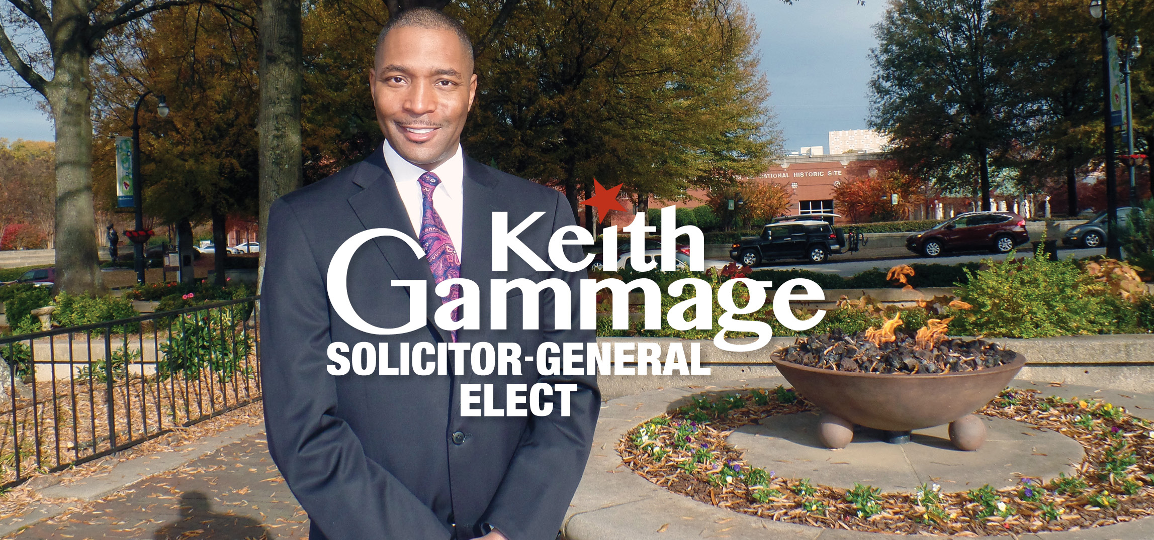Elect Keith Gammage Fulton Solicitor-General